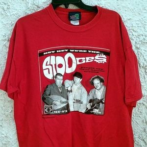 Hey Hey Were The Stooges Shirt Three Stooges XL
